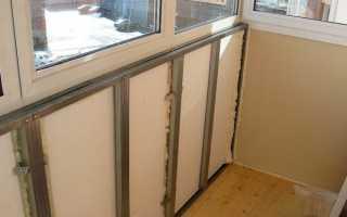 Как правильно утеплить балкон изнутри своими руками