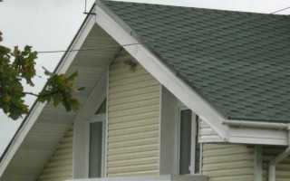 Варианты подшивки свесов крыши