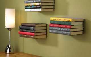 Как закрепить полку на стене без уголка