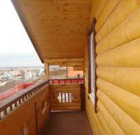 Отделка балкона блок хаусом своими руками