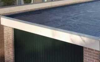 Устройство односкатной крыши гаража своими руками