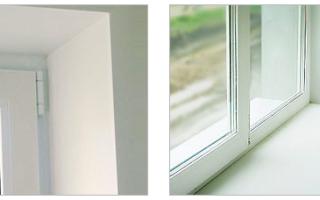 Как правильно заштукатурить откосы на окнах