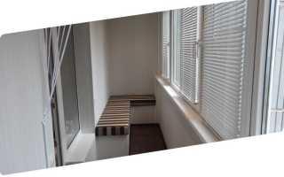 Стандартная высота перил балкона
