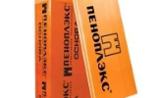 Пеноплекс основа технические характеристики