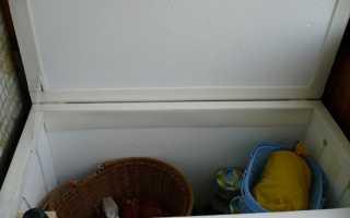 Термоящик на балконе своими руками
