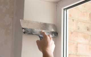 Как правильно оштукатурить откосы на окнах