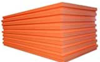 Пенополистирол экструдированный характеристики толщина плит