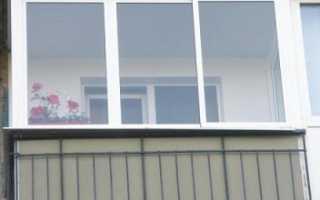 Как лучше застеклить балкон в панельном доме