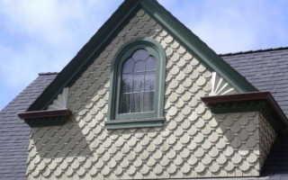 Чем зашить фронтон мансардной крыши