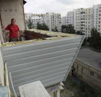 Как правильно утеплить балкон снаружи