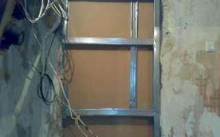 Как зашить дверной проем гипсокартоном?