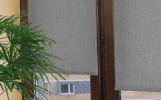 Рольшторы на пластиковые окна без сверления
