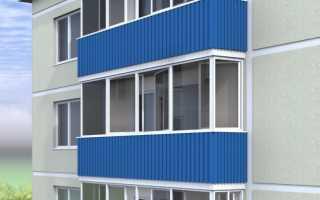 Утепление балкона из металлопрофиля