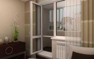 Как починить балконную пластиковую дверь?