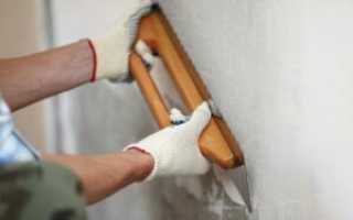 Надо ли штукатурить стены под плитку