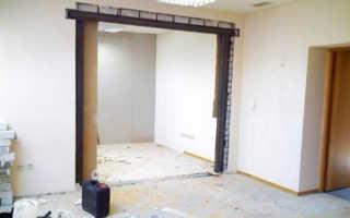 Как снести бетонную стену в квартире