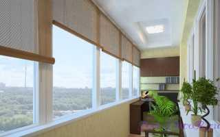 Как повесить шторы на балконе без карниза