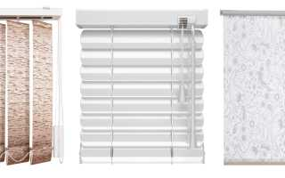 Как померить жалюзи на пластиковые окна