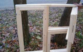 Изготовление деревянных рам для окон своими руками